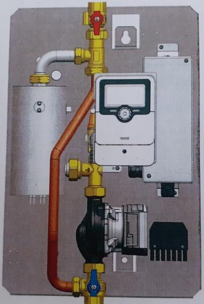 Thermische Heizstation tubra®-eTherm C von Tuxhorn erzeugt Wärme aus PV-Überschusss